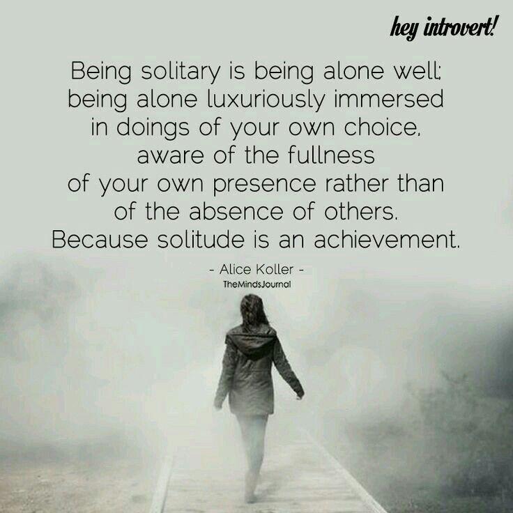Pin On Solitude