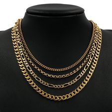 Shop for - Medium Gold Chains (4mm - 8.9mm)