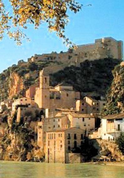 Castillo de Miravet, Tarragona, España
