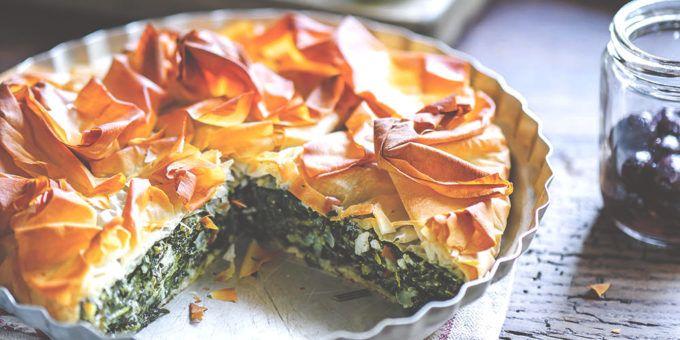 I Quit Sugar: Spinach, Feta and Ricotta Pie