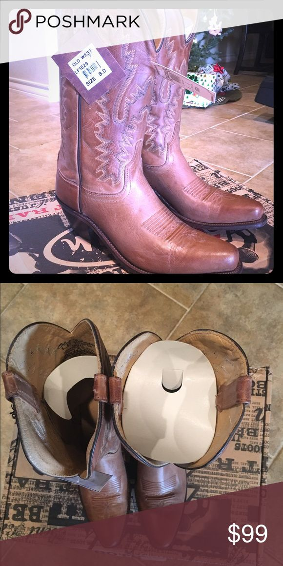 Brand new Women's Old West Boots Brand new pair of Old West boots,size 8 women's Old West Shoes