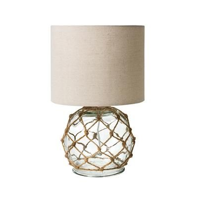 Image for Glass Rope Lamp from Kmart $20