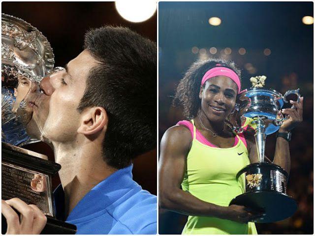 Tennis Australian Open 2016 Results - Men's-Women's Singles and Doubles