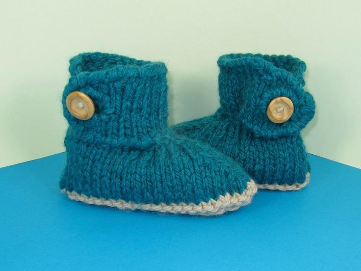 Excepcional Knitting Patterns For Slipper Boots Bosquejo - Ideas de ...
