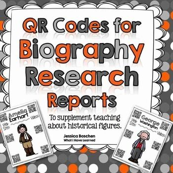 Do your students struggle finding information on famous historical figures for their biography reports?  Do you have technology in your classroom that could help students with biography research, but aren't sure how to get all of your students to access the websites they need?  This tool allows students to research a famous person and write a biography report with scaffolding and support using a graphic organizer. ...
