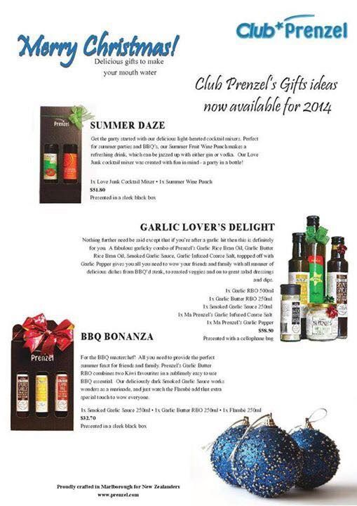 What do you get the foodie in your life for Christmas? A Prenzel Christmas pack delivered directly to your door! Delicious gourmet New Zealand made products at fantastic value! www.clubprenzel.c... #christmas #foodieheaven #gourmet #newzealand
