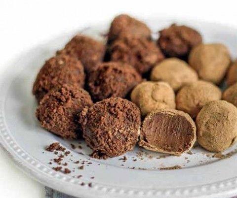 шоколадные конфеты трюфели