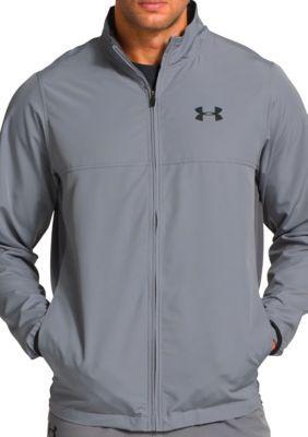 Under Armour Men's Men's Vital Warm-Up Jacket - Steel/Graphite/Black - L