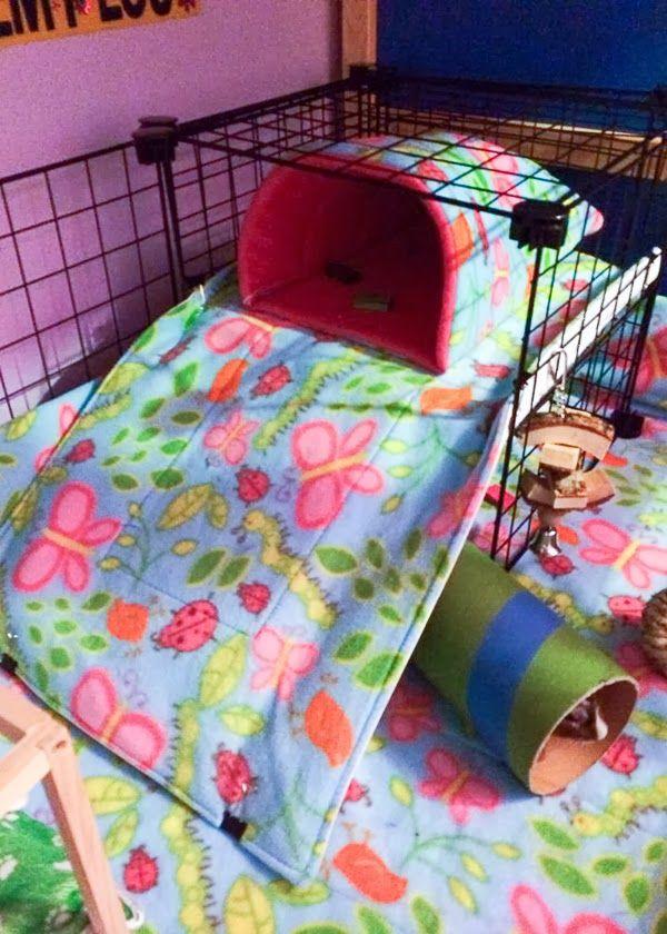 Guinea Pig  Bed C&C Cage - Guinea Pig-Pigs: Coolest Piggie Set Up Around