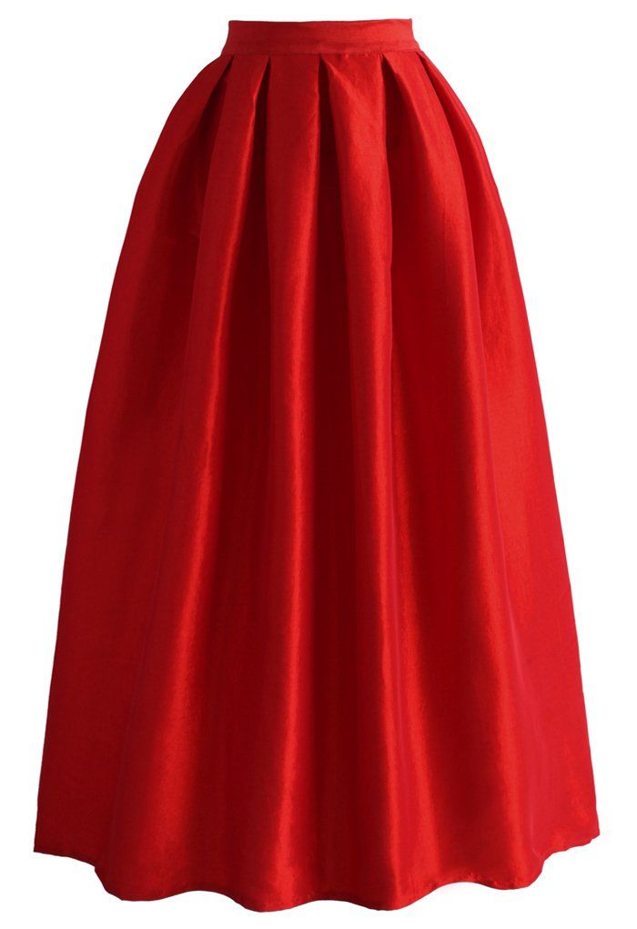 123 best Long Straight Pleated Skirts images on Pinterest