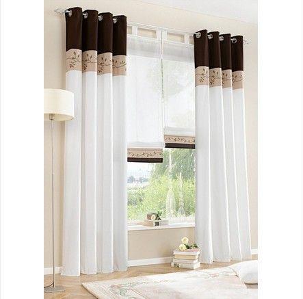 25 ideas destacadas sobre cortinas altas para ventana en - Cortinas modernas para recamara ...