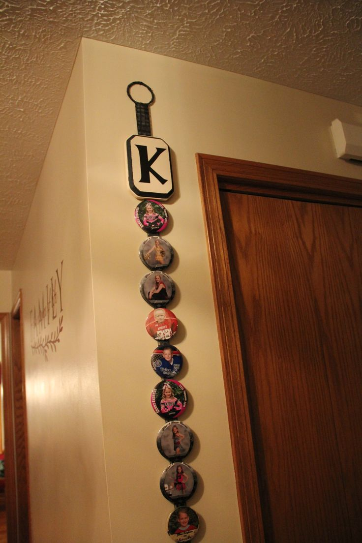 An idea to use the sports buttons from the kids activities, gotta dig them out of their memory crates! OMG I WAS JUST WONDERING WHAT TO DO WITH ALL NICKS PINS I GOTTA TAKE DOWN OFF HIS CURTAIN IN HIS ROOM...THANKS D FOR THE IDEA
