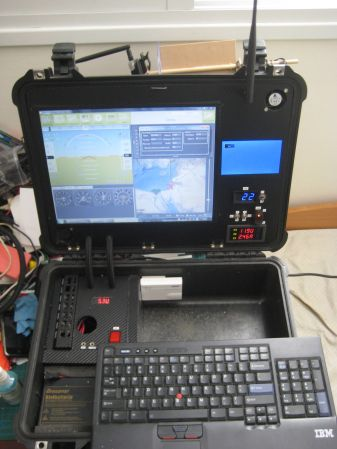 Tearing an old laptop apart to build a ground control station