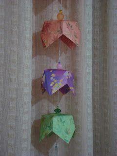As Dobradeiras - Origami: Fuurim - sinos de vento