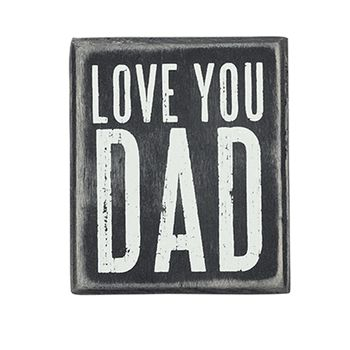 father's day wooden signs