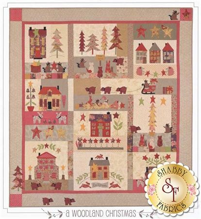 A Woodland Christmas Pattern