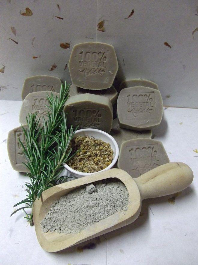 Sapone naturale biologico all'argilla