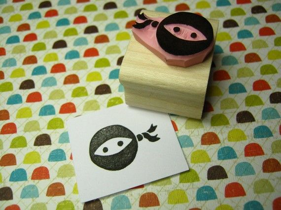 this would be perfect for elliott's ninja party favor tags!