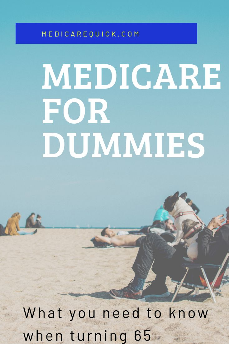 Medicare for dummies medicare retirement advice