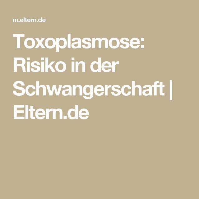 Toxoplasmose: Risiko in der Schwangerschaft   Eltern.de