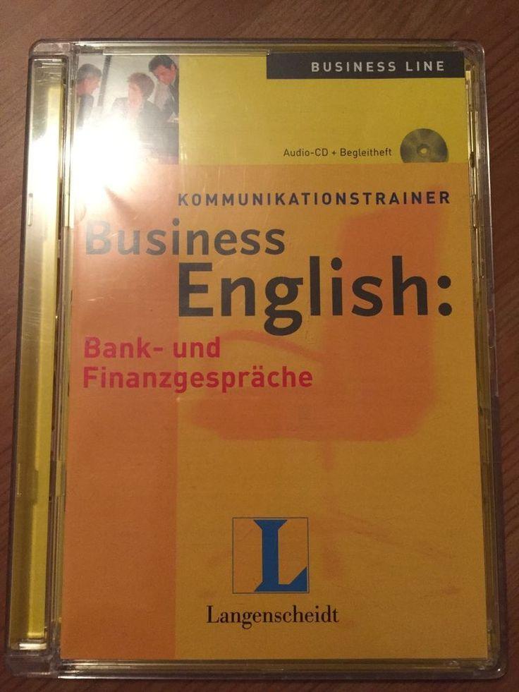 Langenscheidt Business English: Bank- und Finanzgespräche / Hörspiel Audio CD