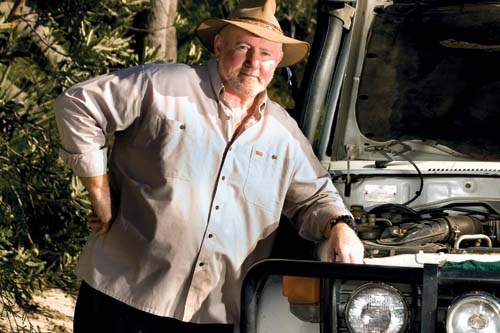 Bob Cooper has made a living out of keeping people alive in the outback.