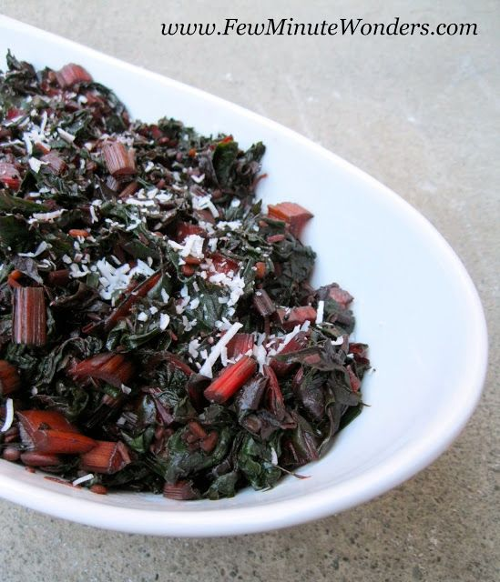 Swiss Chard South Indian Way In 10 Minutes - fewminutewonders ...