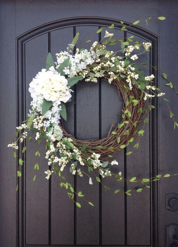 Spring Wreath Easter Wreath Summer Wreath door AnExtraordinaryGift