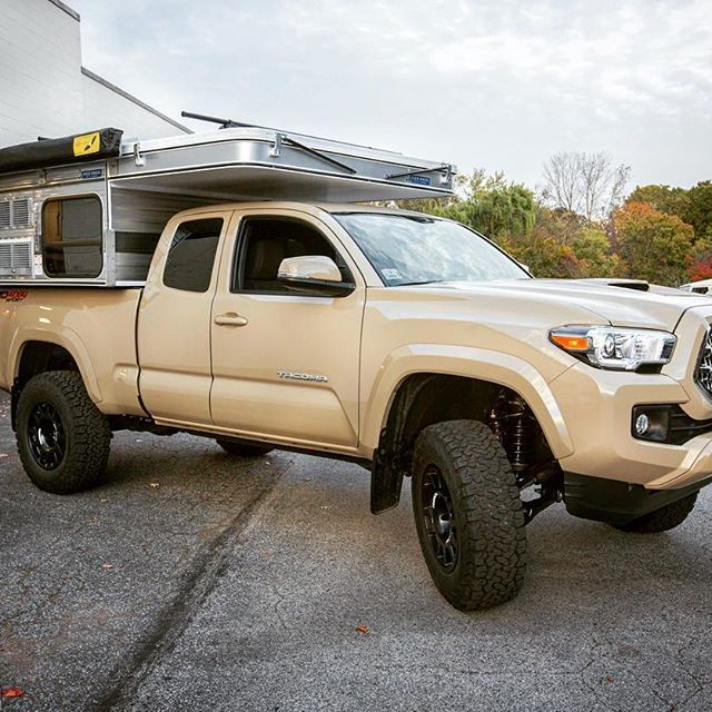 Toyota Maine: Toyota Tacoma TRD Sport With Dakar Zero Wheels #evocorse