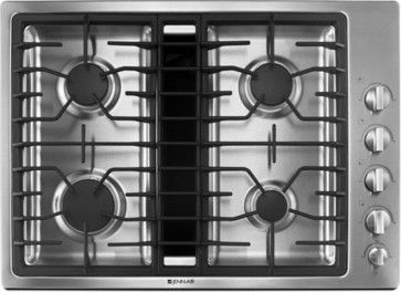 Gas Cooktops traditional-cooktops
