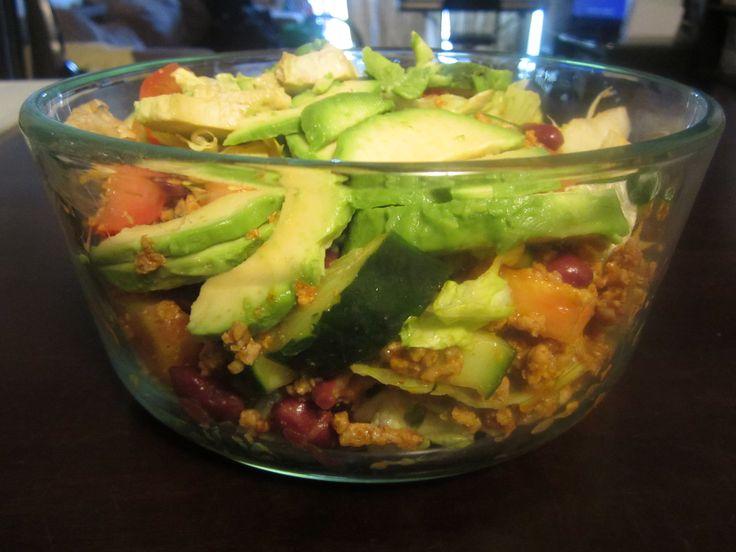 Yeast Free Taco Salad