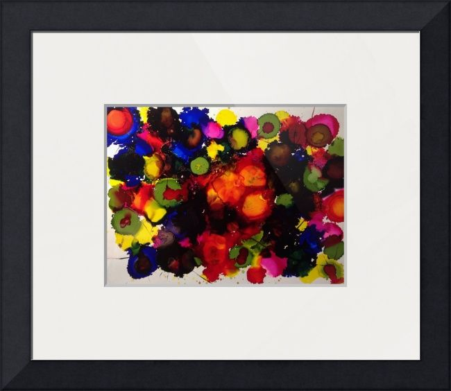 """""""Pauling with colour"""" by Anne Berry-Smith, Adelaide //  // Imagekind.com -- Buy stunning fine art prints, framed prints and canvas prints directly from independent working artists and photographers."""
