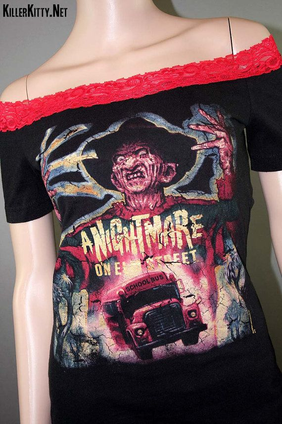 Freddy Krueger Nightmare On Elm Street Off The by KillerKitty, $50.00
