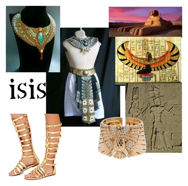"""Egyptian goddess isis"" by icesshailie ❤ liked on Polyvore featuring Cartier"
