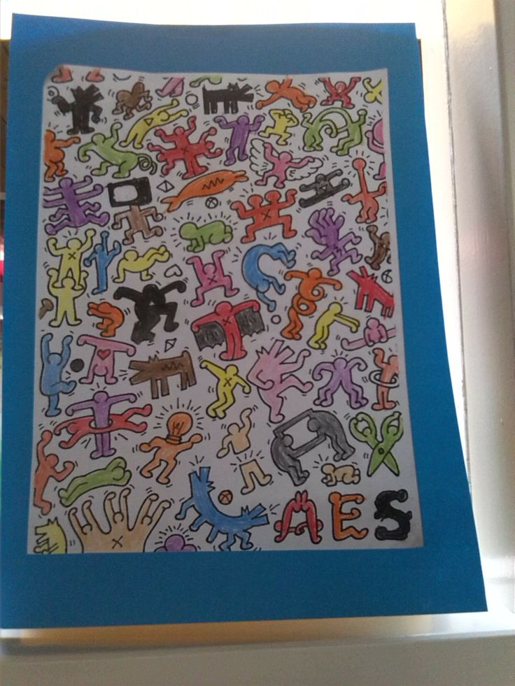 Keith Haring. VLL kern 10