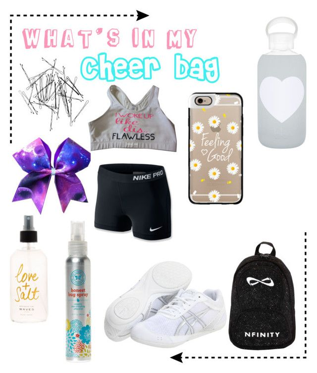 quot what s in my cheer bag quot by tictacwilk liked on polyvore