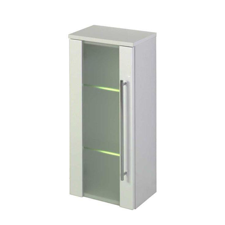 Badezimmer Hängeschrank Mit Beleuchtung Glastür Jetzt Bestellen Unter: ...