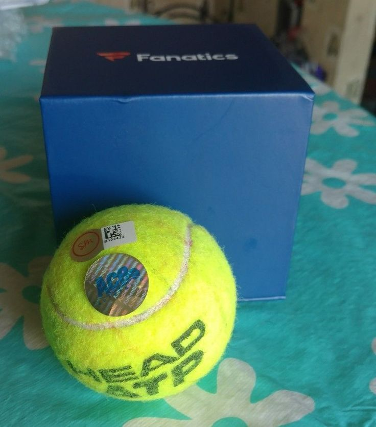 Roger Federer Match Used Game Used Tennis Ball SM ACE Authentic  Price : 29.99  Buy it now price :  Current bids :  Ends on : 2 weeks  Shop now  - #Tennis https://lastreviews.net/sports-fitness/tennis/roger-federer-match-used-game-used-tennis-ball-sm-ace-authentic/