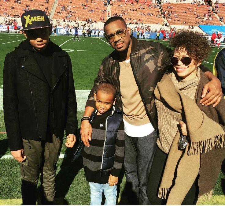 Tisha Campbell, Duane Martin and kids