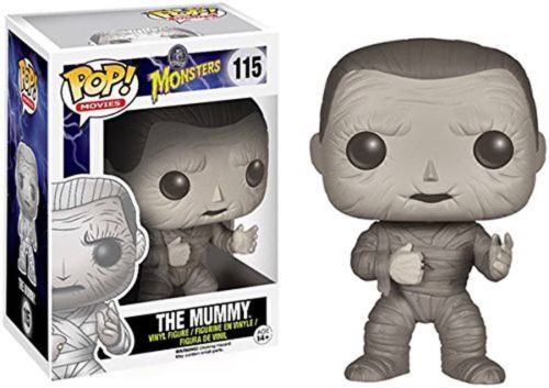 Don't need to go excavating for The Mummy! Here comes Imhotep the Mummy as a Pop! Vinyl figure! Standing at a neat 3 3/4-Inch tall, The Mummy stands in bandaged form and comes packaged in a window display box. It won't come to life, but it will bring some needed life to your collection!