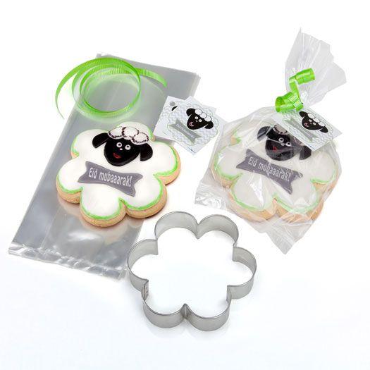 MubAArak Sheep #Eid Cookie Kit | SilverEnvelope.com: Islamic #Party & Stationery  | #cookies