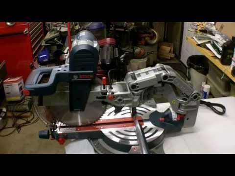 Bosch 12 Dual Bevel Glide Miter Saw Review Model GCM12SD