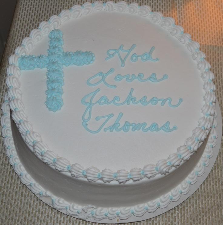 Cake Ideas For A Baptism : Baptism Cake Quotes. QuotesGram