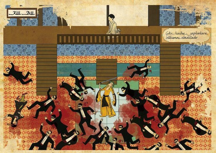 Oriente y Occidente - Kill Bill - Murat Palta (2012).