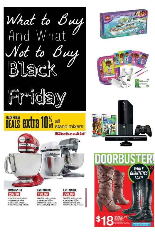 How do you know what to buy and what to avoid? Check out this helpful Black Friday Shopping List, perfect for helping you identify 10 things to buy and avoid on Black Friday. #blackfriday