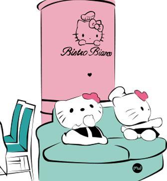 Avis sur bistro bianco hello kitty