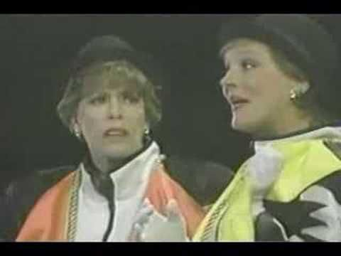 Oh my gosh.  Julie Andrews and Carol Burnett rapping. Pin now watch later!