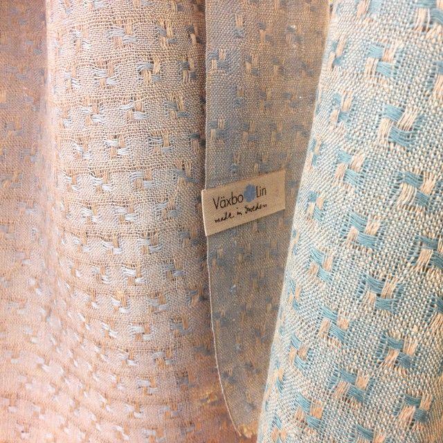 Pure linen scarf Stjärna. Made in sweden.
