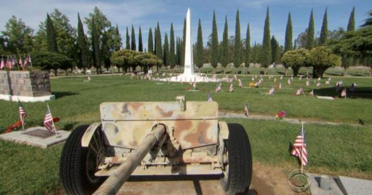 Preston Sharp, 11, was appalled when visiting his grandpa's grave in Redding, Calif., when he realized that not every veteran in the cemetery had an American flag. He took it upon himself to take on odd jobs and solicit donations to buy flags and flowers for every veteran in his grandpa's cemetery. Steve Hartman has more on the young patriot.