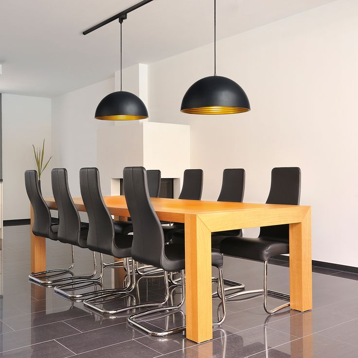 Forchini track pendant for an impressive touch to a board room or dining room